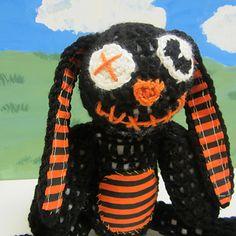 goth bunny crochet pattern