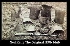 -Ned Kelly armor