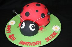 Ladybird cake by Sweet Things Cake Couture, via Flickr