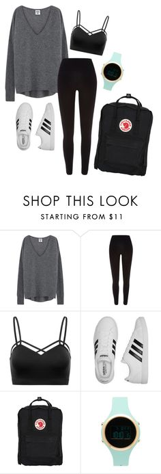"""""""Casual.0.22/Back to school"""" by joannachavez8 on Polyvore featuring River Island, adidas, Fjällräven and Aéropostale"""
