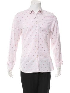 Paul Smith Printed Button-Up Shirt w/ Tags
