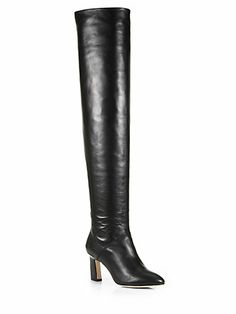 Jeffrey campbell militant over the knee boots