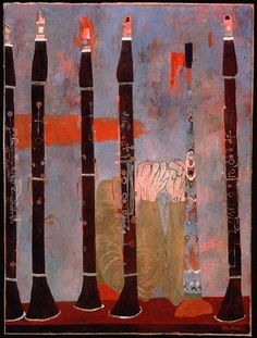 Ben Shahn - Composition for Clarinets and Tin Horn, 1951 Walker Evans, Ben Shahn, Social Realism, Naive Art, American Artists, Painting Inspiration, Les Oeuvres, Art Pictures, Creative Art