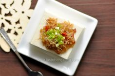 Homemade XO Sauce with Cold Tofu | Hong Kong Food Blog with Recipes, Cooking Tips mostly of Chinese and Asian styles | Taste Hong Kong