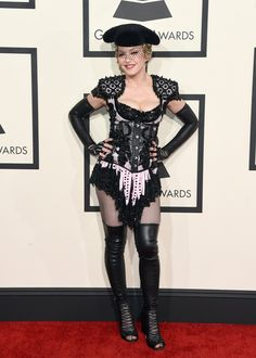 Madonna Exposes Her Butt On The Grammys Red Carpet Because She Couldn't Wait For The Actual Show To Begin (NSFW)