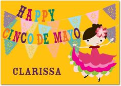 Happy Cinco De Mayo! Personalized cards at treat.com