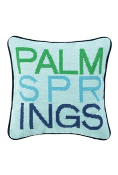Palm Springs Pillow by Trina Turk
