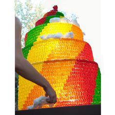 Cake Made of Gummybears