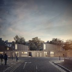 Forbes Massie / 3D Visualisation Studio / London - Work - Mowat + Company / Morpeth Road