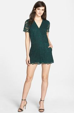 Chelsea28 Lace Romper available at #Nordstrom
