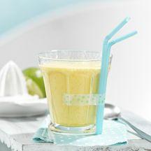 Mango-limoensmoothie met havervlokken