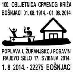 Rotes Kreuz Sonderstempel Kroatien