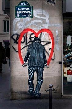 Strret art in Paris