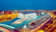 Ciudad de las Artes y de las Ciencias  Valencia, España