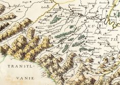 Transylvania Map, 1665