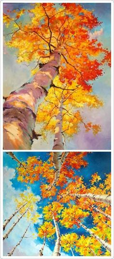 how do html color codes work Watercolor Landscape, Landscape Art, Landscape Paintings, Watercolor Paintings, Landscapes, Art Aquarelle, Art Plastique, Tree Art, Painting Inspiration