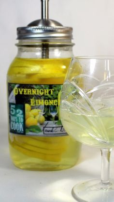 Overnight Limoncello OH MY!!! Really, in the time it takes to slow smoke a Brisket you can transport yourself to a Tuscan hill top and enjoy this Italian classic. LOTS of lemons, Simple Syrup, a little Lemon Vodka and you are in business! Simple, easy DIY instructions and that rich lemony liqueur becomes the highlight of your night with friends!