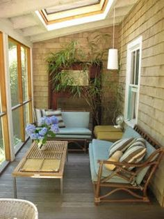 Small sunroom decorating ideas smart and creative decor is one of images from small sunroom decor. Find more small sunroom decor images like this one in this gallery Outdoor Rooms, Outdoor Furniture Sets, Outdoor Decor, Furniture Ideas, Sunroom Furniture, Outdoor Living, Arrange Furniture, Outdoor Patios, Outdoor Kitchens
