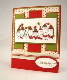 Holiday Lineup on Christmas Jingle by jaydeestamping - Cards and Paper Crafts at Splitcoaststampers