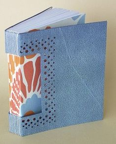 Ort bindery, buttonhole binding