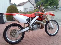 2001 Honda CR 125 - This is a 250 photo but you get the idea. My first new bike was the '99 YZ400. That bike was always broke or on the ground. I decided to take a step back and ride a 125 again. I progressed more skill-wise riding this bike than any of the others. The bike's dependability and racing nearly every weekend might have had something to do with it.