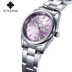 2016 New Luxury Brand Women's Quartz Watch Date Day Clock Stainless Steel Watch Ladies Fashion Casual Watch Women Wrist Watches   Watchmarvels