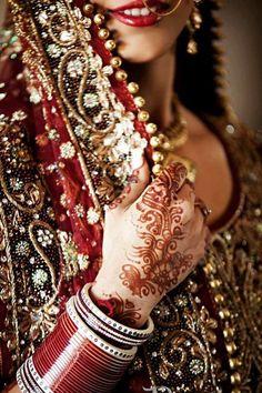 indian bride #mehndi