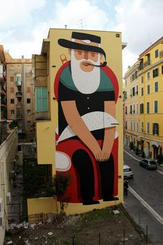 Mural by Agostino Lacurci