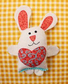 Jennifer Jangles Blog: Little Love Bunny Softie Sewing Pattern