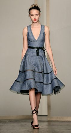 Blue Dress- Donna Karan