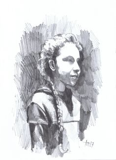 Sketches, Portrait, Drawings, Painting, Art, Art Background, Headshot Photography, Painting Art, Kunst
