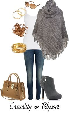 """""""Silver and Gold"""" by casuality on Polyvore"""