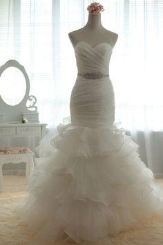 sweetheart mermaid wedding dress, wedding dresses, wedding gown, long wedding dress