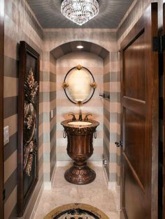 LUXURIOUS HALLWAY BATHROOM