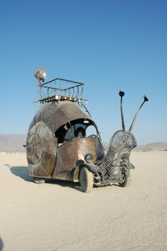 The Iron Snail car, again.