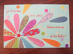 fête des mères ou des pères - idée de carte Decor Crafts, Diy And Crafts, Crafts For Kids, Arts And Crafts, Paper Crafts, Homemade Puffy Paint, Mother's Day Activities, Mothers Day Crafts, Mother And Father