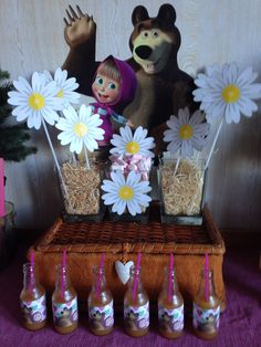 Masha e Orso Party Girl - Sweet Table