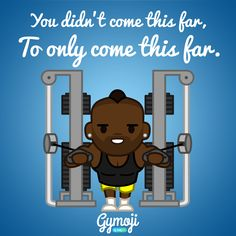 'You didn't come this far, only to come this far' - BEAT #JANUARY. You're over half way there.  Get THE #fitness inspired sticker app for iOS in the App Store today, search Gymoji by body360.  #motivation #inspiration #train #workout  #gymaddict #gymaholic #gymbunny #gymlife #gymselfie #fitnessmodel #instalegs #fitspo #justbringit #commentback #youvsyou #comment #outfitshare #workoutfit #gymfreak #fitfam #fitnessaddict #outdoors #booty #bootyfordays #gymlover #gymlove