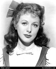 Hedy Lamarr - 1940s actress ... when she was young - MovieMaidens.com