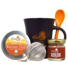 eSutras Organics - Karmic Chai Tea Set by eSutras