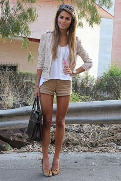 Blazer 'n shorts