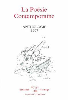"""""""La poésie contemporaine"""" Anthologie 1997 - Couverture de Gérard Basiletti"""