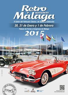 EVENTOS   II Retro Málaga   Entrada Conjunta Feria / Museo del Automóvil - Eventos del Motor