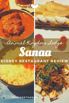 Sanna at Animal Kingdom Lodge combines African dining and Savanna views! Here's everything we love about Sanaa at Animal Kingdom Lodge and why it's become one of our favorite restaurants at Walt Disney World. Animal Kingdom Rides, Disney Animal Kingdom Lodge, Disney Drinks, Disney Snacks, Disney World Rides, Walt Disney World, Disney Worlds, Animal Kingdom Restaurants, Best Disney Restaurants