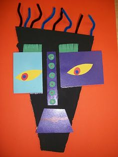 Kimmy Cantrell mask perfect for a follow up to shape lesson