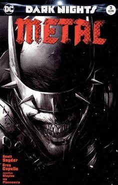 Dark Nights: Metal - Comic Mint black-and-white variant - Francesco Mattina Batman Metal, Batman Dark, Batman Wallpaper Iphone, Dark Knights Metal, Batman Universe, Dc Universe, Batman Artwork, Classic Comics, Comic Book Covers