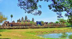 Angkor Wat,Siem Reap,Cambodia. Vietnam, Khmer Empire, Siem Reap, Angkor Wat, 12th Century, Golf Courses, Mansions, Architecture, World