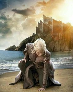 Daenerys at Dragonstone. Home at last. Game of Thrones Season 7. ASOIAF