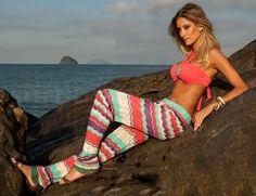 Moda Praia Verão 2013 - Beachwear - Brigitte Biquínis - Maiôs - Kaftans