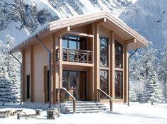 Holzhäuser aus dem Brettschichtholz
